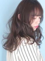 ゆるふわパーマ◇フェザーロング(髪型ロング)