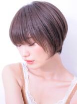 美シルエット大人のリラックスショートヘア(髪型ショートヘア)