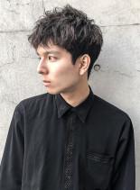★ショートマッシュ×セミツイスト★(髪型メンズ)