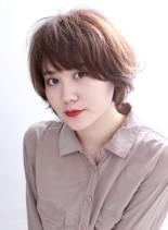 ガッキー風大人ショートヘアー(髪型ショートヘア)