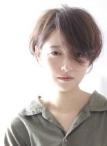 大人可愛い☆フェミニンショートボブ(髪型ショートヘア)