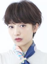 ☆大人の耳掛けフレンチショートボブ☆ (髪型ショートヘア)