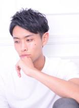 デキる男のツーブロックビジネススタイル(髪型メンズ)