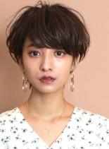 ワンカールパーマ☆大人可愛いショートヘア(髪型ショートヘア)