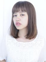 サラツヤ☆セミディー(髪型ミディアム)