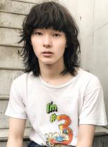 ★2018トレンド!マッシュウルフ★(髪型メンズ)