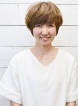 ブルージュエアリーマッシュショート♪(髪型ショートヘア)