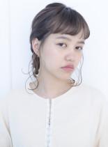ゴム1本で出来る☆簡単アレンジ(髪型ミディアム)