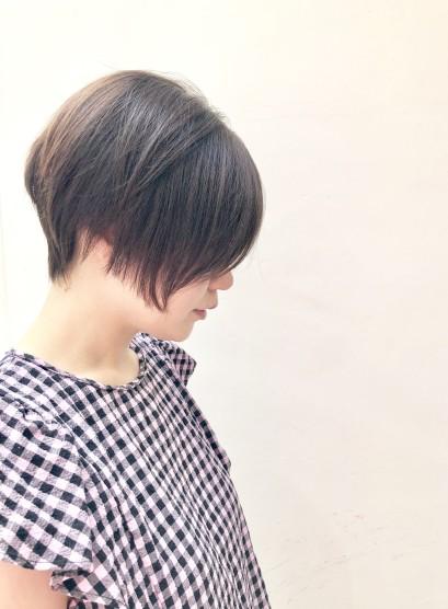 お手入れ簡単大人ショート (髪型ショートヘア)