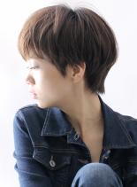 ☆大人のハンサムショート☆(髪型ショートヘア)