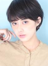お手入れ簡単◇お洒落シンプルショートヘア(髪型ショートヘア)