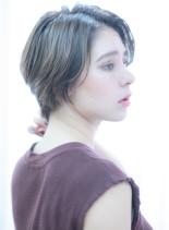 30代女性にオススメな大人ショート(髪型ショートヘア)