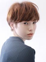 ☆大人の耳掛けマッシュショート☆(髪型ショートヘア)