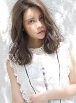 憧れる♪女子に人気のセミロングスタイル☆(髪型セミロング)