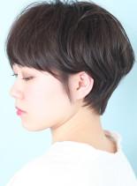 大人シンプルなショートマッシュ(髪型ショートヘア)