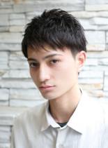爽やか三代目系メンズ ベリーショート(髪型メンズ)