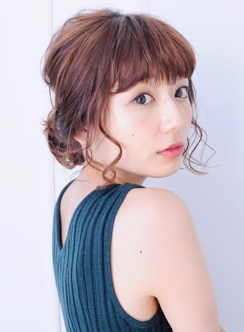 ラフで可愛い☆簡単アレンジスタイル(ビューティーナビ)