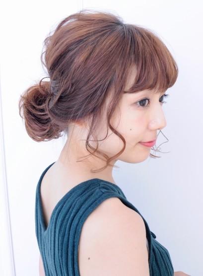 ラフで可愛い☆簡単アレンジスタイル(髪型ミディアム)
