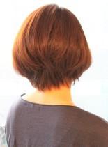 【30代40代50代】ひし形ワンカール(髪型ボブ)