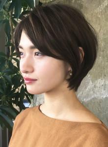 ☆骨格カバー☆大人小顔ショートヘア(ビューティーナビ)