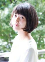 大人女性に似合うボブスタイル(髪型ボブ)