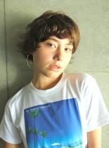 大人マッシュショートヘア(髪型ショートヘア)