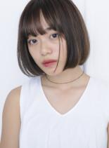 首もとスッキリ☆ミニボブ(髪型ボブ)