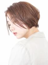大人のセミウェットクールショート(髪型ショートヘア)
