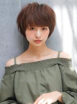 ブルージュカラー・ショート☆(髪型ショートヘア)