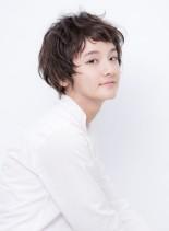 アンニュイショート(髪型ショートヘア)