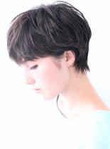☆清潔感のある大人のショート☆(髪型ショートヘア)