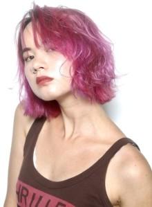 hot pink bob !(ビューティーナビ)