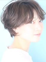 大人のふんわりマッシュショート☆(髪型ショートヘア)
