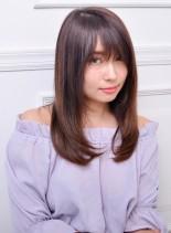 さら髪ナチュラルストレート☆(髪型セミロング)