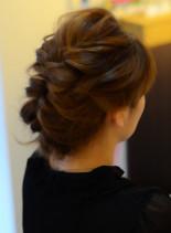 ミディアムヘアアレンジ(髪型ミディアム)