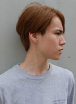 外国人風前下がりショート(髪型メンズ)
