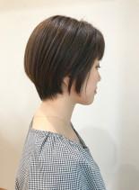 30代・40代◎簡単に決まるショート(髪型ショートヘア)