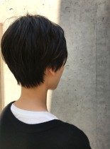 30代・40代◎まとまりのあるショート(髪型ショートヘア)