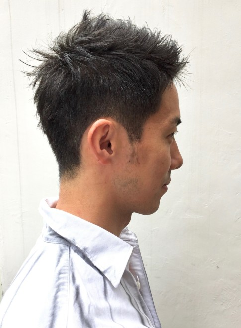 大人の髪型・香川真司風スタイル。(ビューティーナビ)