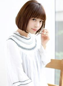 【ナチュラルかわいい】シンプルボブ☆(ビューティーナビ)