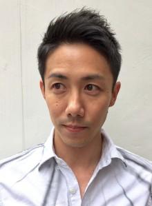 大人の髪型・香川真司風スタイル。