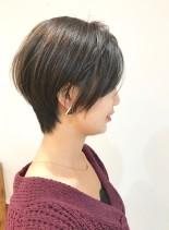 30代・40代◎ふんわりショート(髪型ショートヘア)
