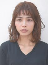 大人ワンカールボブ(髪型ボブ)