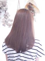 8トーンアンティークシルバー(髪型セミロング)