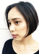 大人っぽショートボブ(髪型ショートヘア)