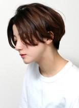 カッコいい×オシャレ×ハンサムショート(髪型ショートヘア)