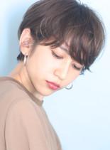 大人のシンプル◇マッシュショート(髪型ショートヘア)