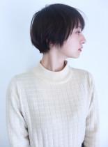えりあしスッキリショート(髪型ショートヘア)