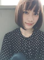 シンプルボブ(髪型ボブ)