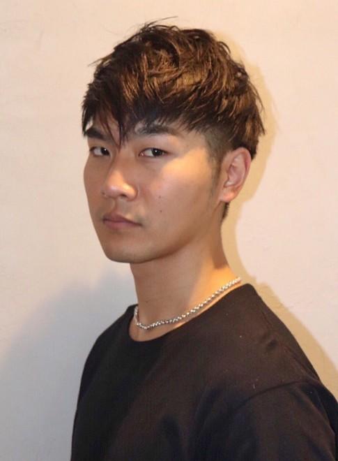 松田翔太風2ブロックショート(ビューティーナビ)